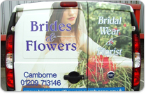 Brides and Flowers in Cambourne Cornwall